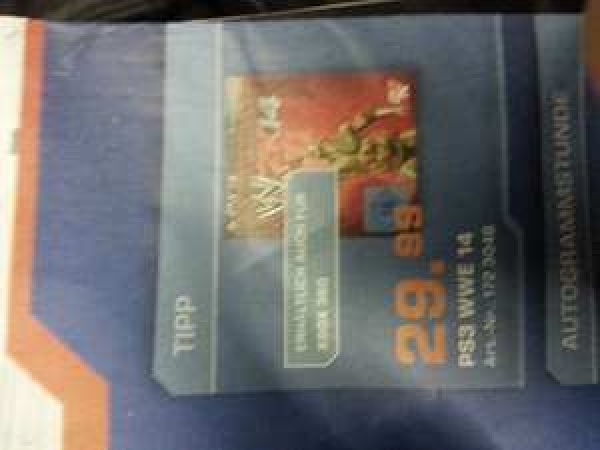 W2k14 wwf 14 für ps3 @ Saturn Berlin für 29,99€