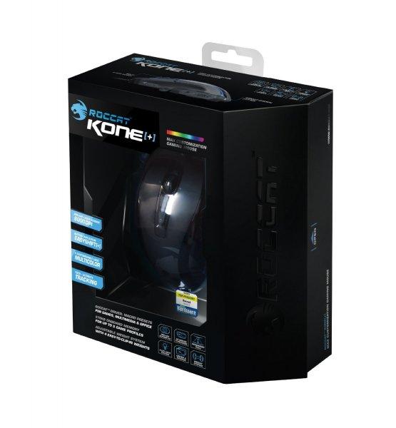 """Roccat™ - Gaming Laser-Maus """"Kone+"""" (6000dpi,8 Tasten) [B-Ware] für €41,32 [@MeinPaket.de]"""