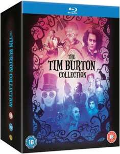 The Tim Burton Collection Blu-ray für  €20.69/ £16.95 inkl Versand (8 Filme) bei Zavvi