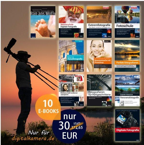 10 PDFs zum Thema Fotografie für 30 EUR statt 370 EUR