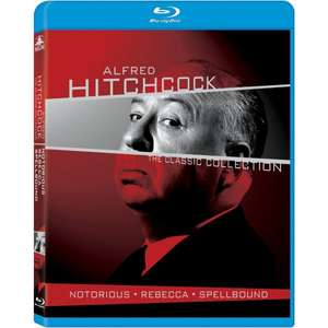 Alfred Hitchcock: The Classic Collection [Blu-ray]  bei ama.com für 20 EUR inkl. Versand