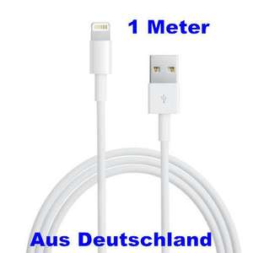 Lightning Kabel für Apple iPhone 5, iPad 4 usw. USB, Ladekabel, Datenkabel,