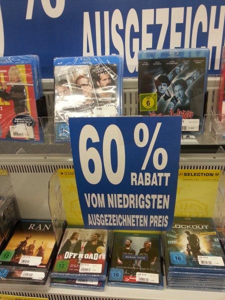 [Lokal]  Pro Markt Cottbus (Sielower Chaussee) 60 % auf alle DVD's Blu-Rays und CDs z.B. Criminal Minds Staffel 6 für 6 €