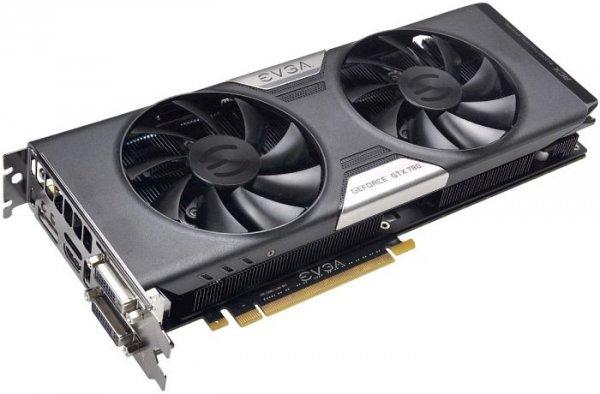 3072MB EVGA GeForce GTX 780 ACX Cooler  inkl. 3 Spiele