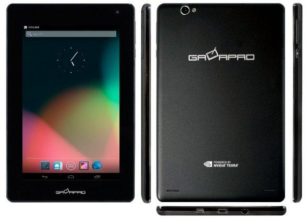 Palit XpertVision Galapad 8GB schwarz Tegra 3 7 Zoll Tablet für 99 Euro bei cyberport.de