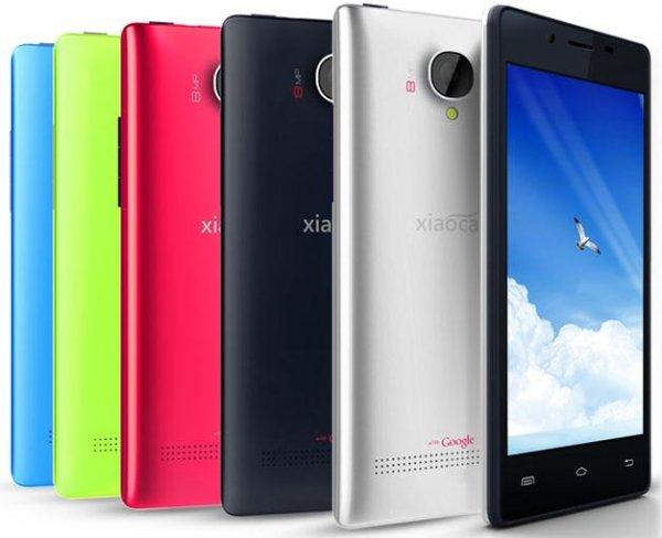 Wieder da & neue Version & neuer Rabattgutschein: Xiaocai X9 Dual-SIM Handy mit 4.5 Zoll Display, 1.2Ghz Quad-Core MTK6589 Smartphone, Android 4.2 und 1 GB RAM