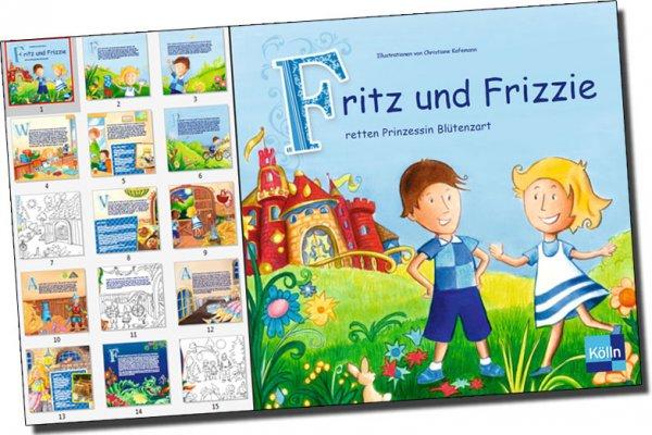 tolle, kostenlose Geschichten- und Malbücher der Firma Kölln - 3 verschiedene - versandkostenfrei -