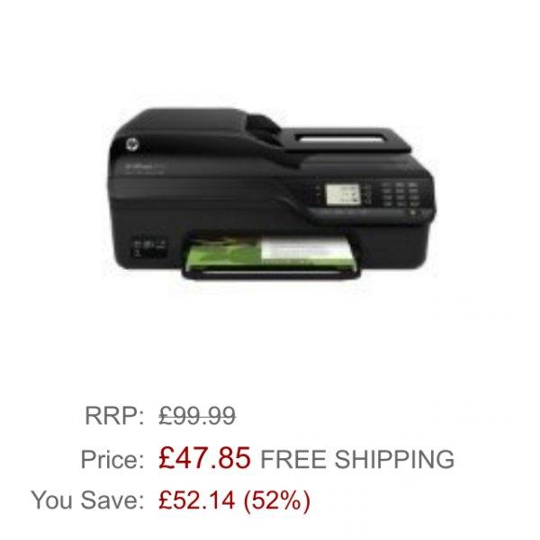HP Officejet 4620 e All-In-One Drucker für 48£!