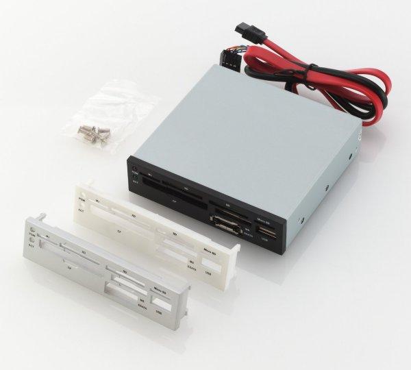 """[Amazon/prime] deleyCON 3,5"""" interner Kartenleser inkl. USB und eSATA Port, mit drei verschiedenen Blenden  - 6,99€"""