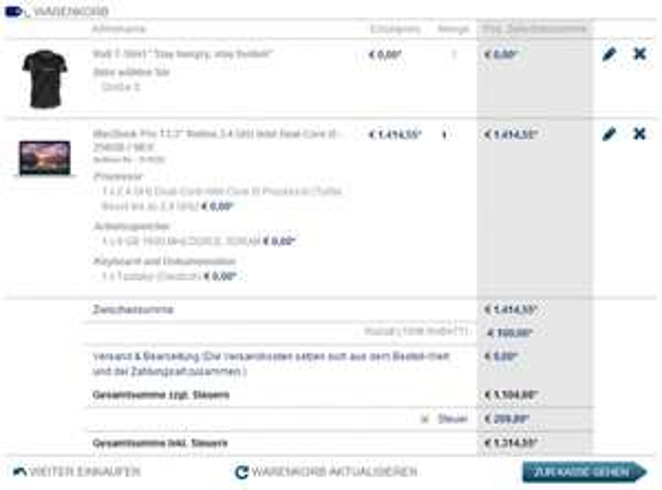 Mactrade 100€ Rabatt auf Macs (+3% Qipu, +5% Studentenrabatt)