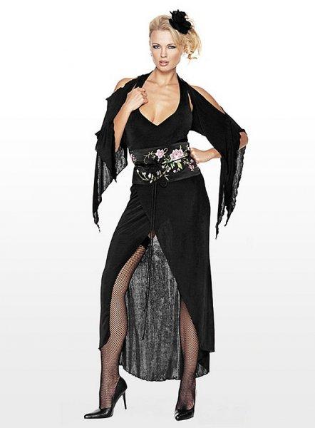 Sexy Schwarze-Witwen-Kostüm für Frauen (oder merkwürdige Männer)