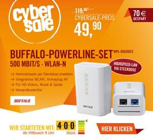 CyberSale Buffalo Power-Line-SET