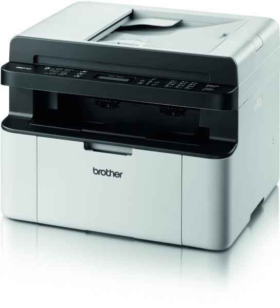 """Brother™ - S/W Multifunktions-Laserdrucker """"MFC-1810"""" (1200x600dpi,Drucker/Scanner/Kopierer/Fax,USB) für €104.- [@GetGoods.de]"""