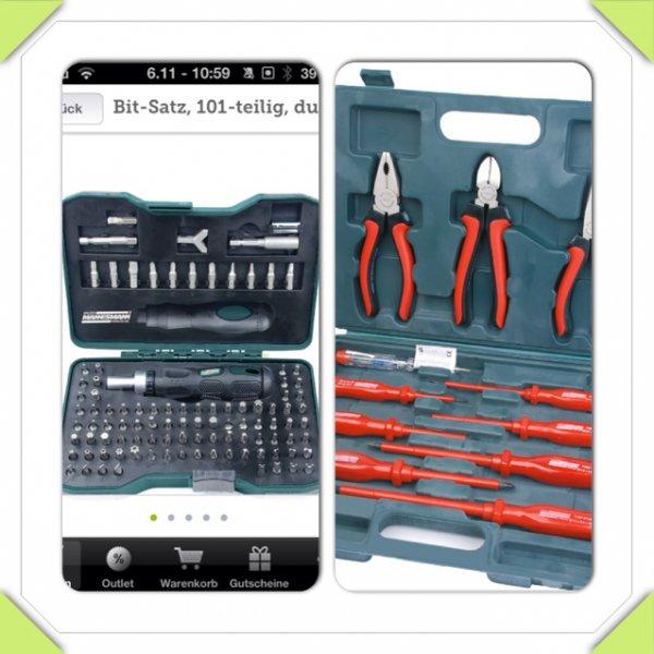 Einfaches Werkzeug bei B4F