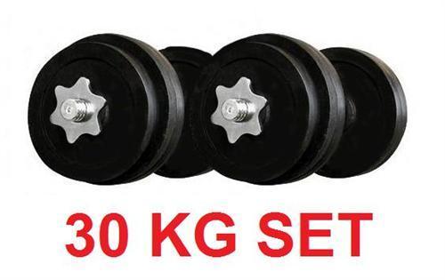 Hantelset 30kg , versandkostenfreie Lieferung innerhalb von 2 Tagen für 25,85€
