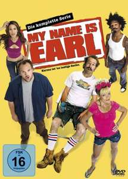 My Name Is Earl - Die komplette Serie [16 DVDs]  @ Amazon