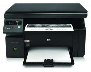 HP LaserJet Pro M1132 All-in-One Laser Multifunktionsdrucker (A4, Drucker, Scanner, Kopierer) für 84,05 € @Amazon.it