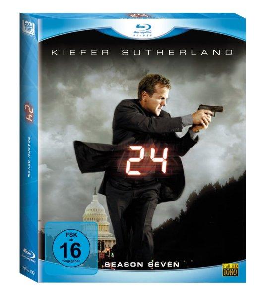 24 - Season 7 (6 Blu-rays) [Blu-ray]  für 14,97 € @ amazon.de