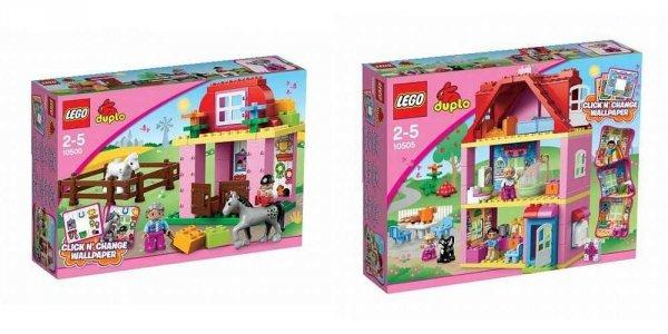 "Lego™ - ""Duplo: Familienhaus + Pferdestall"" (10500+10505) ab €56,97 [@Toysrus.de]"