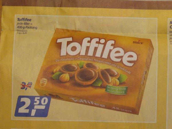 [Lokal Essen] Toffifee 400g (48 Stk.) für 2,50€ bei Real im KronenbergCenter (ab 7.11.)