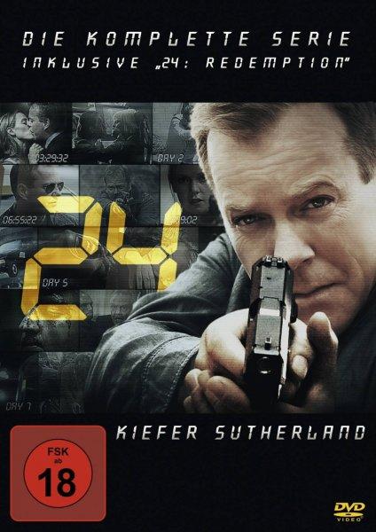 """24 (Twenty Four) - Die komplette Serie inklusive """"24: Redemption"""" [49 DVDs]"""