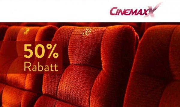 CinemaxX Kino Karte für 5 € [Deutschlandweit]