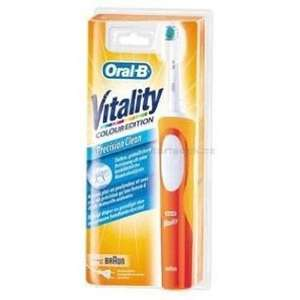 [ LOKAL Saturn Celle ]  BRAUN Elektrische Zahnbürste Vitality Prec Clean orange