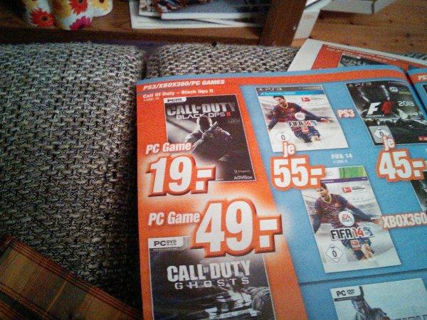 Call of Duty Black Ops 2 für PC bei Expert, Bundesweit [offline]