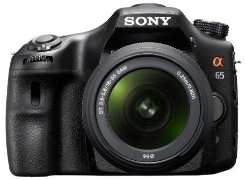 [Amazon Angebot]Sony SLT-A65VL inkl 18-55mm Objektiv schwarz 619