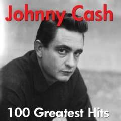 Amazon MP 3 Album: Johnny Cash - 100 Greatest Hits - The Very Best Of  - Nur 5 €