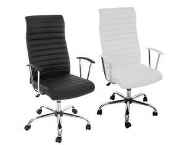 Bürostuhl Drehstuhl Chefsessel Cagliari, ergonomische Form @meinpaket 59,99€