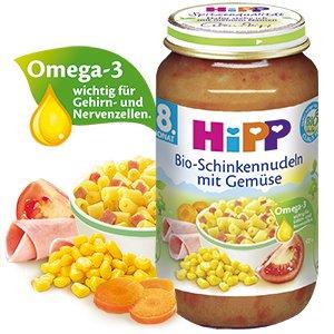 [lokal Wiesbaden] Hipp Menü Babygläschen 4er-Pack für 3,25 €
