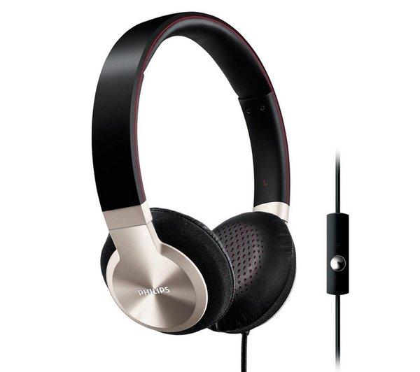 Philips SHL9705A Android Kopfhörer mit Freisprechfunktion schwarz/silber für 24.9 @Pixmania