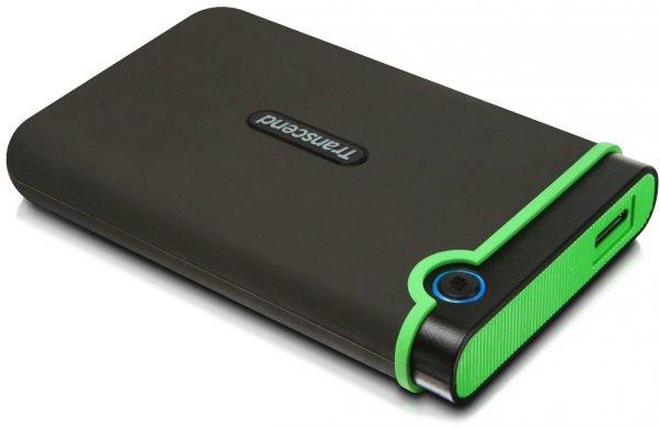 TRANSCEND externe Festplatte StoreJet 25M3  1 TB Schwarz USB 3.0