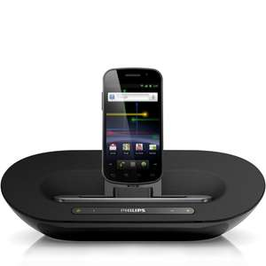 Philips AS351/05 Android Dock mit Micro-USB, Bluetooth, MP3-Link,Internetradio-App für 65€ @DC