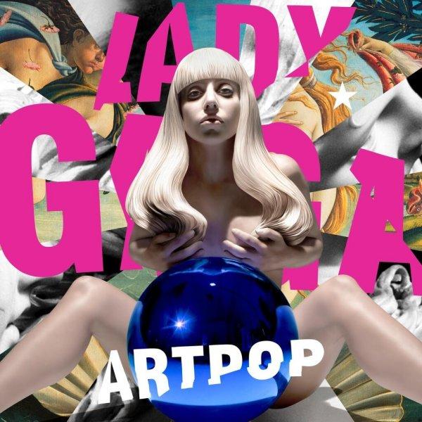 Lady GaGa - ARTPOP - 15 Tracks - VÖ 08.11.2013
