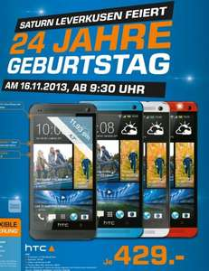 [Saturn Leverkusen 16.11] Lokal HTC One  429€