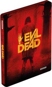 Evil Dead 2013, Blu Ray Steelbook, engl Ton, uncut
