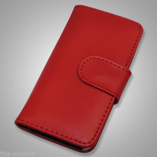 iPhone 5 Schutzhülle Leder rot | 14,99 Euro inkl. Versand