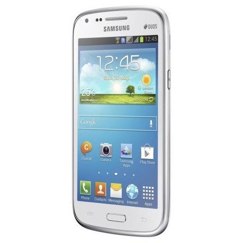 "Samsung Galaxy Core GT-I8262 weiß EU [10,9cm (4,3"") DUAL Core / DUAL SIM"