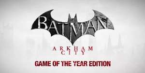 [B] Batman Arkham City & Deponia Steam Key [S] Friede, Freude, Eierkuchen