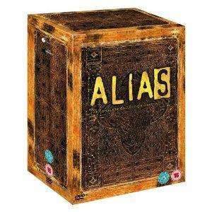 Alias - die Agentin 1-5 Complete Set [30 DVDs] für ca. 36,46€ @ Amazon.uk