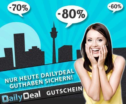 Erinnerung: Dailydeal 5 x 5 Euro Gutscheine ab heute
