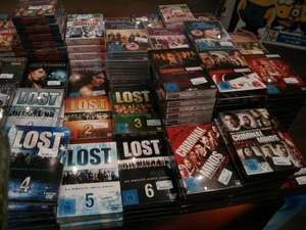 [Lokal] Lost & Criminal Minds & Private Practise & Grey's Anatomy - alle Staffeln - Saturn im Gerngroß Erdgeschoss  - Mariahilfer Straße in Wien