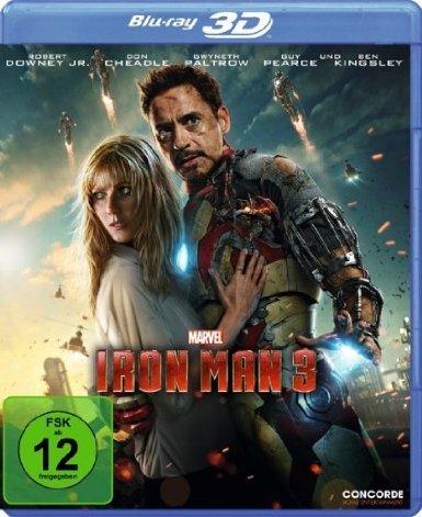 [ebay.de] Iron Man 3  - 3D Blu-ray  (inkl. 2D Blu-ray Version) 15,95€ inkl. Versand