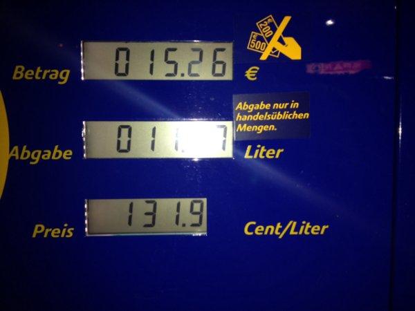 Lokal Kassel Diesel 1,32€ / Liter Jet bei 3 brücken
