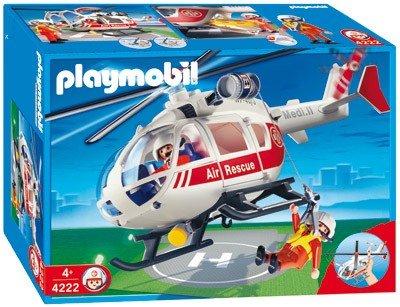 Playmobil Citylife-Klinik Notarzthelikopter (4222) für 32 Euro