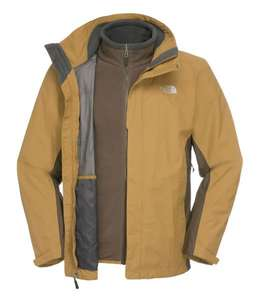 The North Face Evolution II Triclimate Jacket Men, khaki XL
