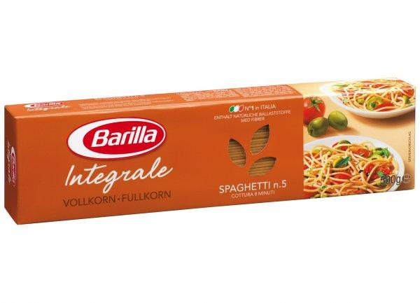 [HIT bundesweit 11.11.-16.11.] Barilla Integrale Spaghetti kostenlos + 6 Cent Gewinn
