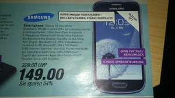 [Lokal?(OWL)] Samsung galaxy S3 mini I8190
